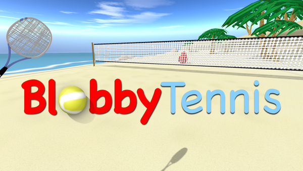 Blobby Tennis release for Oculus Quest